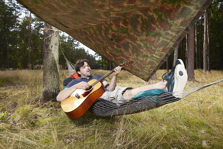 hanging tree hammock tent