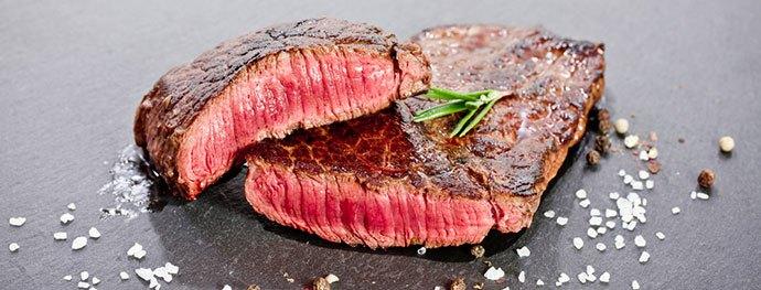 grill frozen steak medium rare