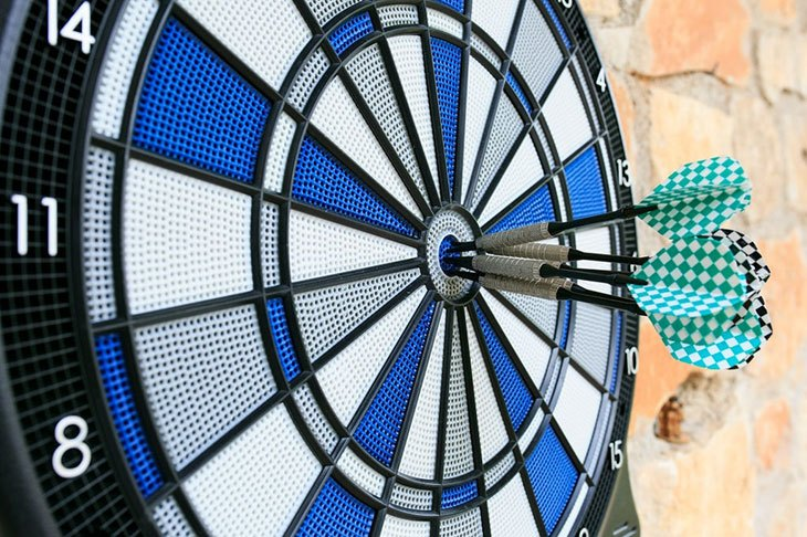 best electronic dart board for the money